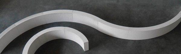 Cellenbeton – Gasbeton 100mm Ronde blok 90°