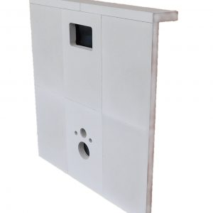cellenbeton toilet ombouw wc inbouw toilet gasbeton 80mm